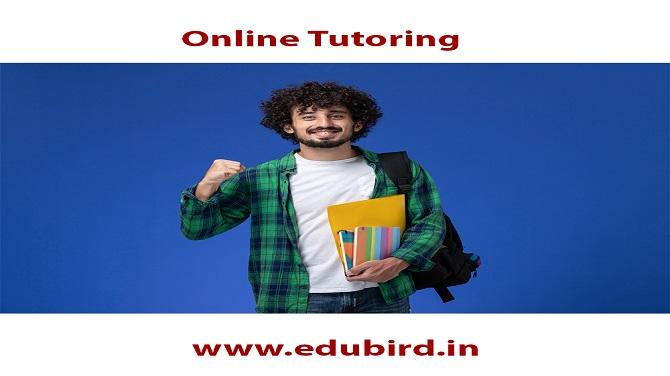 Online Tutoring  LL y  www.edubird.in