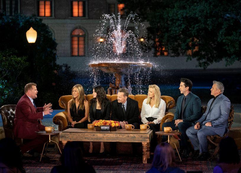 El elenco completo de Friends, en su reencuentro