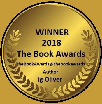 WINNER  2018 The Book Awards eBook wards@thebockRN  Author ig Oliver 11                        5.