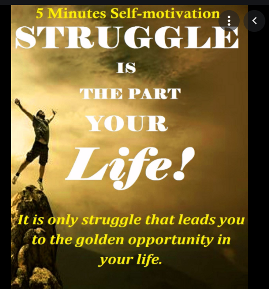 es Self-motivation ,  lI iggle that leads you } to the golden opportunity in  RTT pay
