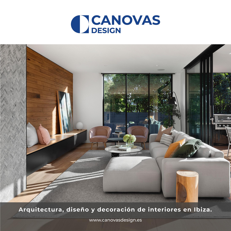 YCANOVAS  4 DESIGN     Arquitectura, disefio y decoraciéon de interiores en Ibiza.  www.canovasdesign.es