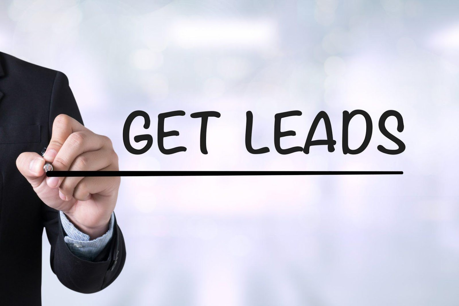 8 Ways to Generate More Leads from Your WebsiteA. GET LEADS