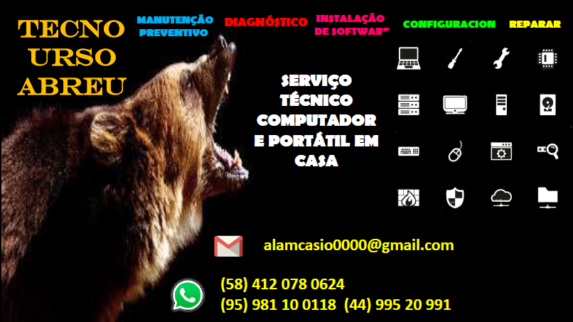 I'M] alamcasio0000@gmail.com  (58) 412 078 0624 (95) 981 10 0118 (44) 995 20 991  I= a EI mg